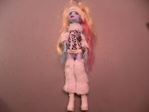 Monster High Doll First 1st Wave Abbey Bominable Daughter Of The Yeti FREE SHIP