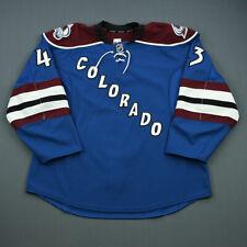 2012-13 Michael Sgarbossa Colorado Avalanche Game Used Worn Hockey Jersey! NHL