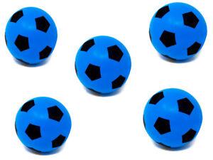 Pack of Five 20cm E-Deals Foam Sponge Football  Ball Soft Indoor Outdoor Soccer