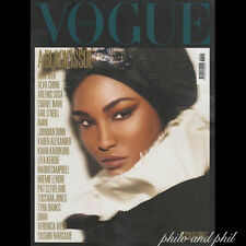 Sesilee Lopez Cover: Vogue Italy Italia July 2008 BLACK ISSUE Naomi Jourdan Liya