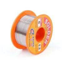 50g 0.8mm 63/37 Rosin Core Soudage à Soudure fer Enrouleur Bobine Fil 63% Etain