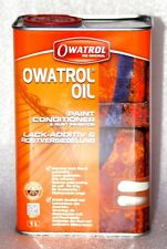 NEW Owatrol Oil RUSTOL PAINT CONDITIONER RUST INHIBITOR penetrating 1 LT