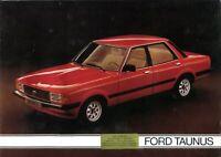 Ford Taunus (Cortina Mk 4) 1979 Dutch market sales brochure