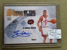 2013-14 SP Authentic Sign of the Times #SEJ Eddie Jones C