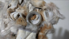 New listing 1 Pound Genuine Tanned Coyote Fur Pieces (Scraps) Hide Pelt Taxidermy