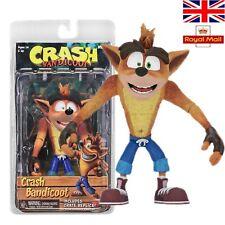 "NECA Crash Bandicoot with Crate Replica 6"" PVC Action Figure Model Toys Gift UK"
