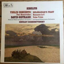 ASD 2407 Sibelius Violin Concerto, etc. / David Oistrakh / Rozhdevstvenky