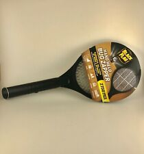 Mosquito Zapper Racket Electric Hand Held Bug Fly Swatter Rechargeable Battery