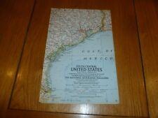 South Central STATI UNITI-Mappa Nazionale gegraphic-PIASTRA (10/Febbraio 1961)