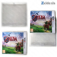 Box Protector Sleeve 3DS 2DS (XL) NDS NTSC Games Custom Made Clear Plastic Cases