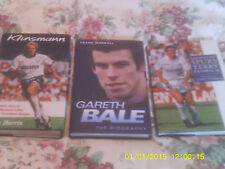 BUNDLE JOBLOT THREE TOTTENHAM SPURS BOOKS FENWICK BALE KLINSMANN FREE DELIVERY