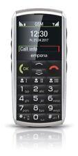emporiaCLASSIC Silber GSM-Dualband Mobiltelefon IP54 Bluetooth 2MP BRANDNEU