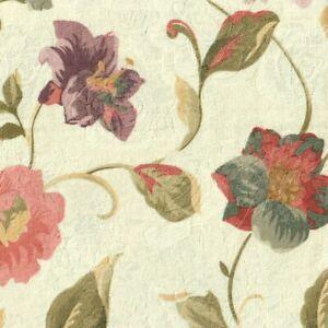 Kissenhülle Kissen Blumen Rosen Lilien Jacquard 50 cm x 50 cm