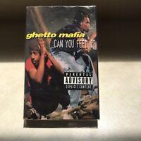 GHETTO MAFIA Can You Feel It Tape Cassette Rap G FUNK NWA boombox 90s Music