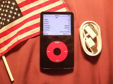 U2 RED iPod Video 5th 5.5th Gen 256GB 20000 tracks MADE IN USA>240GB/160GB/120GB
