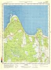 Russian Soviet Military Topographic Map – LEISI (Estonia), 1:50 000, ed.1978