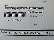 Evergreens für Blasmusik Heft 1 Karl Pfortner Trompete 1 in b