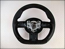 Custom BMW MINI cooper STEERING WHEEL R50 R51 R52 R53 Flat Bottom Thick volante