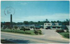 1950's Hal Orr's Motel, Rocky Mount, NC US Hwy 301 North Carolina, postcard