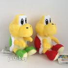 """2X New Super Mario Bros Plush Koopa Troopa Soft Toy Doll Teddy Stuffed Animal 6"""""""