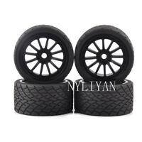 4pcs 1:8 Bigfoot Tires&Wheel 17mm Hex for 1/8 TRAXXAS RC Model Car Monster Truck