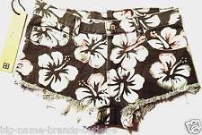 NEW - NWT - RRP $200 - Womens Ksubi 'ALBERCEQUE CUT OFF ALTERED FLORAL' Shorts