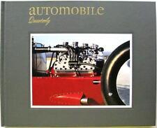 AUTOMOBILE QUARTERLY VOLUME 34 NUMBER 1 L SCOTT BAILEY CAR BOOK