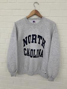 Vintage Russell Athletic Crewneck Sweatshirt North Carolina USA Made Size XL