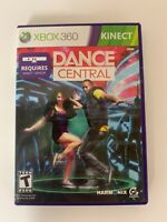 Dance Central  Xbox 360 Kinect Game Used Requires Kinect Sensor A14