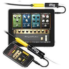 IK iRig Multimedia GUITAR midi Interface New For ios iPhone/iPod/iPad Pro tools