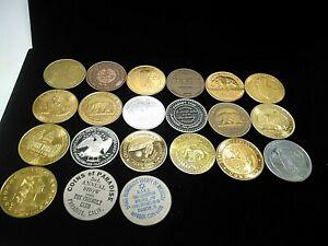 LOT OF 21 COMMEMORATIVE ANIVERSARIES DIVERSE COINS -D52