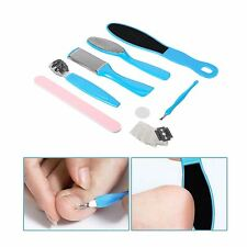 10PCS Foot Portable File Dead Hard Skin Callus Remover Scraper Mani Pedicure UK