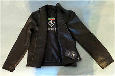 NWT, Emporio & Co. Men's Black Fashion Jacket with Ferrari Logo, Size XL, Italy