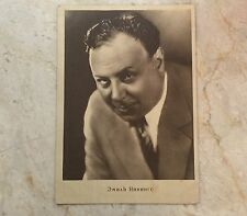 Russia USSR Postcard actor Emil Yannings 1929