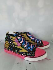 Luna Lovegood Harry Potter Sneakers size 10/11 BNWT unisex Sparkly