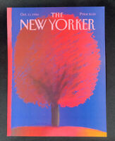 COVER ONLY ~ The New Yorker Magazine, October 13, 1986 ~ Merle Nacht