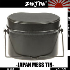 WW2 JAPAN ARMY ALUMINIUM LUNCH BOX CAMPING HIKING MESS TIN LUNCH BOX JP/102101