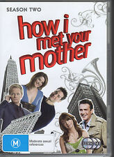 HOW I MET YOUR MOTHER - SEASON TWO - 3 DVD SET R4 - VERY GOOD - FREE POST