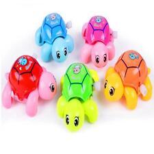 Turtle Swim Animal Wound-up Chain Clockwork Baby Kid Bathroom Bath Cute Toy JO