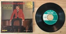 RARE FRENCH EP JERRY LEE LEWIS GREAT BALLS OF FIRE