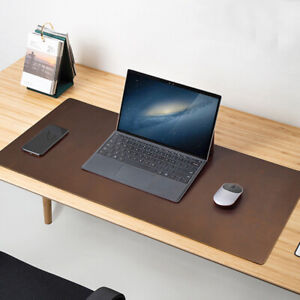 Full Grain Leather Desk Pad Table Mat Genuine Leather Game Mouse Pad Wrist Rests