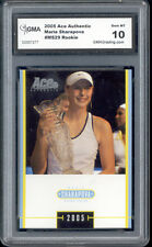2005 Maria Sharapova Ace Authentic Tennis Rookie  Gem Mint 10 #MS29