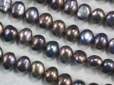 "Nugget Pearls Bronze Iris 8mm - 7mm Freshwater Potato - Full 16"" Strand #4208"
