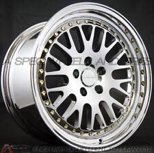 19x9.5/10.5 Varrstoen Es7R 5x120 +20/22 Silver Rims Fits Bmw 528 535 550 2006-10