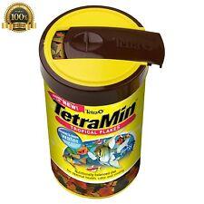 Fish Food Foods Formula Tetra 16106 TetraMin Flakes Flake Koi Tropical Aquarium