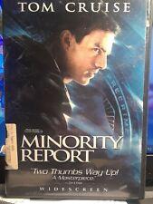 minority report dvd widescreen