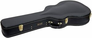 Crossrock Semi-Acoustic & Hollowbody Electric Guitar Case, Gibson ES-335 style