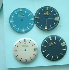 Watchmakers Bulova Accutron 218 wristwatch dials New old stock Bulova Accutron