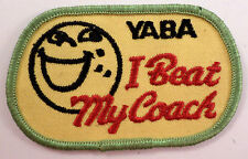 Yaba I Beat My Coach Uniform Patch