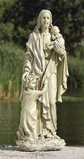 """24""""H Jesus With Little Children Outdoor Garden Statue Joseph's Studio # 46020"""